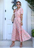 somon-pembe-mini-floral-desen-kusakli-elbise